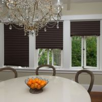 Redi Shade Paper Pleated Light-Flitering Shade in Cafe (Set of 4)