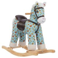 Rockin' Rider Casey Rocking Horse in Blue