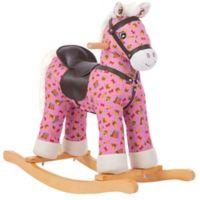 Rockin' Rider Carly Rocking Horse in Pink