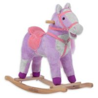 Rockin' Rider Lilac Rocking Horse in Purple