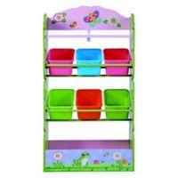 Fantasy Fields Magic Garden 7-Compartment Toy Organizer