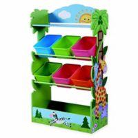 Fantasy Fields Sunny Safari 7-Compartment Toy Organizer