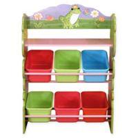 Fantasy Fields Magic Garden 6-Compartment Toy Organizer