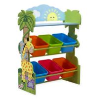 Fantasy Fields Sunny Safari 6-Compartment Toy Organizer