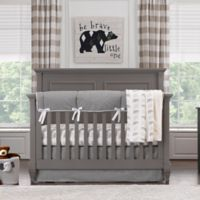 Liz and Roo Cubby Bear 3-Piece Crib Bedding Set in Grey