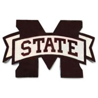 Mississippi State University 30-Inch Recycled Metal Wall Décor in Maroon/White