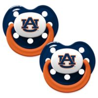 Auburn University 2-Pack Hole Shield Logo Pacifiers