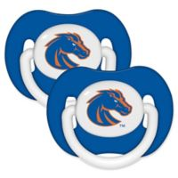 Boise State University 2-Pack Hole Shield Logo Pacifiers