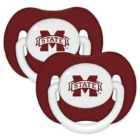Michigan State University 2-Pack Hole Shield Logo Pacifiers