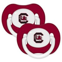 University of South Carolina 2-Pack Hole Shield Logo Pacifiers