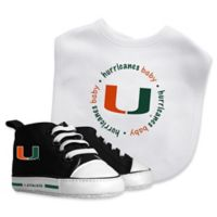 Baby Fanatic University of Miami 2-Piece Gift Set