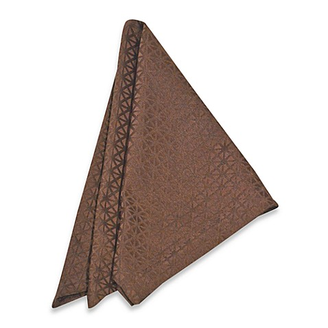 Marquis by Waterford Riverside Napkin in Chocolate