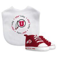 Baby Fanatic University of Utah 2-Piece Gift Set