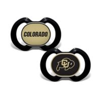 University of Colorado 2-Pack Team Logo Pacifiers