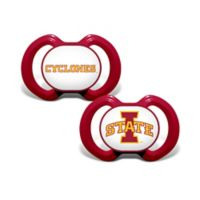 Iowa State University 2-Pack Team Logo Pacifiers