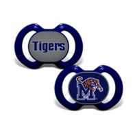 University of Memphis 2-Pack Team Logo Pacifiers