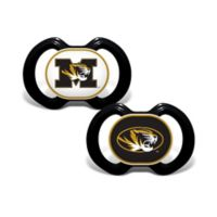 University of Missouri 2-Pack Team Logo Pacifiers