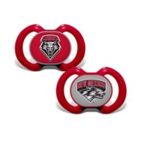 University of New Mexico 2-Pack Team Logo Pacifiers
