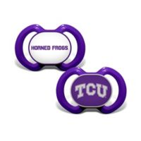 TCU 2-Pack Team Logo Pacifiers