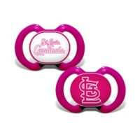 MLB St. Louis Cardinals 2-Pack Team Logo Pacifiers in Pink