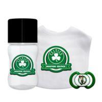 Baby Fanatic NBA Boston Celtics 3-Piece Feeding Gift Set