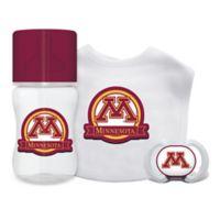 Baby Fanatic University of Minnesota 3-Piece Feeding Gift Set