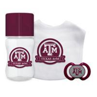 Baby Fanatic Texas A&M University 3-Piece Feeding Gift Set