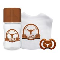Baby Fanatic University of Texas at Austin 3-Piece Feeding Gift Set