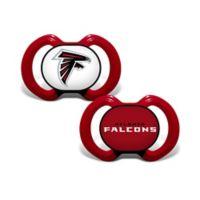 NFL Atlanta Falcons 2-Pack Team Logo Pacifiers