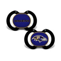 NFL Baltimore Ravens 2-Pack Team Logo Pacifiers