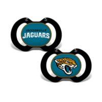 NFL Jacksonville Jaguars 2-Pack Team Logo Pacifiers