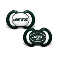 NFL New York Jets 2-Pack Team Logo Pacifiers