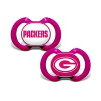 NFL Green Bay Packers 2-Pack Team Logo Pacifiers
