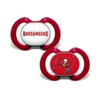 NFL Tampa Bay Buccaneers 2-Pack Team Logo Pacifiers
