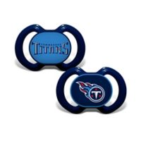 NFL Tennessee Titans 2-Pack Team Logo Pacifiers