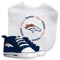 Baby Fanatic NFL Denver Broncos 2-Piece Gift Set