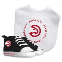 Baby Fanatic® NBA Atlanta Hawks 2-Piece Bib and Prewalker Gift Set