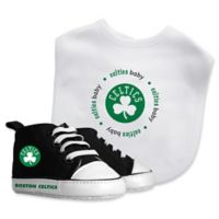 Baby Fanatic® NBA Boston Celtics 2-Piece Bib and Prewalker Gift Set