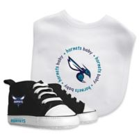 Baby Fanatic® NBA Charlotte Hornets 2-Piece Bib and Prewalker Gift Set