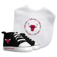 Baby Fanatic® NBA Chicago Bulls 2-Piece Bib and Prewalker Gift Set