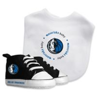 Baby Fanatic® NBA Dallas Mavericks 2-Piece Bib and Prewalker Gift Set