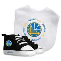 Baby Fanatic® NBA Golden State Warriors 2-Piece Bib and Prewalker Gift Set