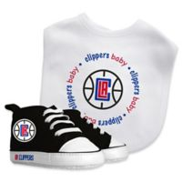 Baby Fanatic® NBA Los Angeles Clippers 2-Piece Bib and Prewalker Gift Set