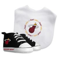 Baby Fanatic® NBA Miami Heat 2-Piece Bib and Prewalker Gift Set