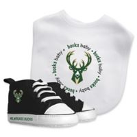 Baby Fanatic® NBA Milwaukee Bucks 2-Piece Bib and Prewalker Gift Set