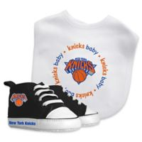 Baby Fanatic® NBA New York Knicks 2-Piece Bib and Prewalker Gift Set