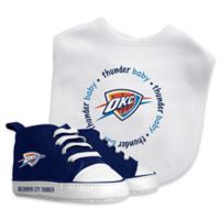 Baby Fanatic® NBA Oklahoma City Thunder 2-Piece Bib and Prewalker Gift Set