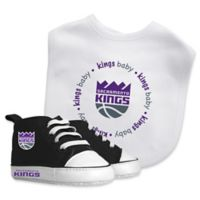 Baby Fanatic® NBA Sacramento Kings 2-Piece Bib and Prewalker Gift Set