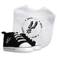 Baby Fanatic® NBA San Antonio Spurs 2-Piece Bib and Prewalker Gift Set