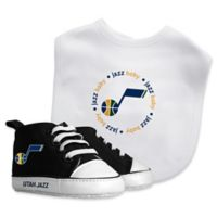 Baby Fanatic® NBA Utah Jazz 2-Piece Bib and Prewalker Gift Set